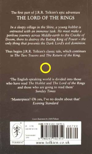 The Lord of the Rings I (Fellowship Of The Ring) - Full Text